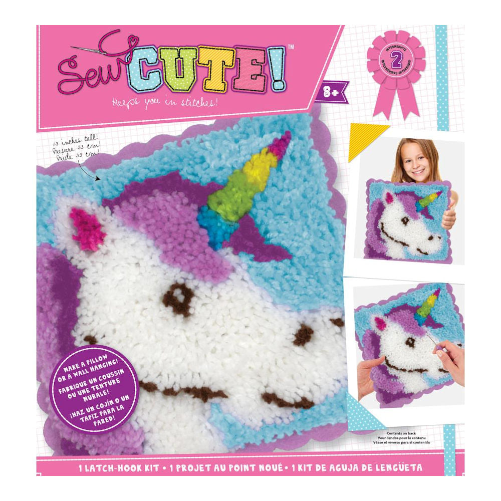 Sew Cute! Hook Kit Unicorn / Kit de Unicornio