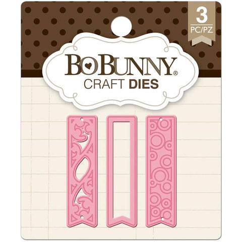 Fancy Tags Dies / Suaje de Banners - Hobbees