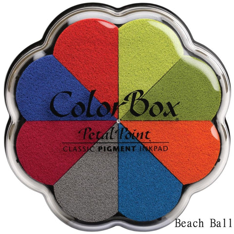 Cojines de tinta para sellos / Petal Point Beach Ball Pigment Ink pad - Hobbees