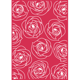 Plus Bella Rose Embossing Folder / Folder de Grabado Rosa Bella