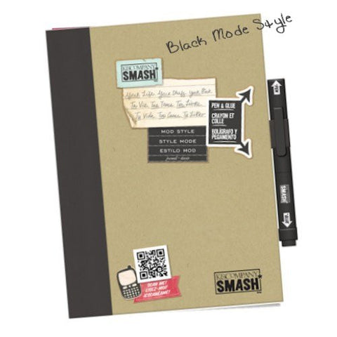 Smash Black Mode Style / Cuaderno tipo Diario o Agenda Smash - Hobbees - 1