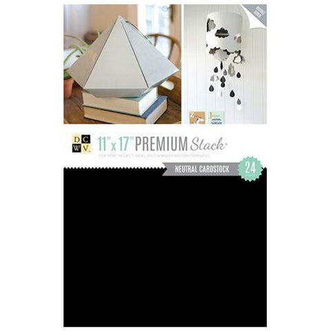Block Premium Stack Paper - Double-Sided / Block de Cartulina con Diseños Doble Cara