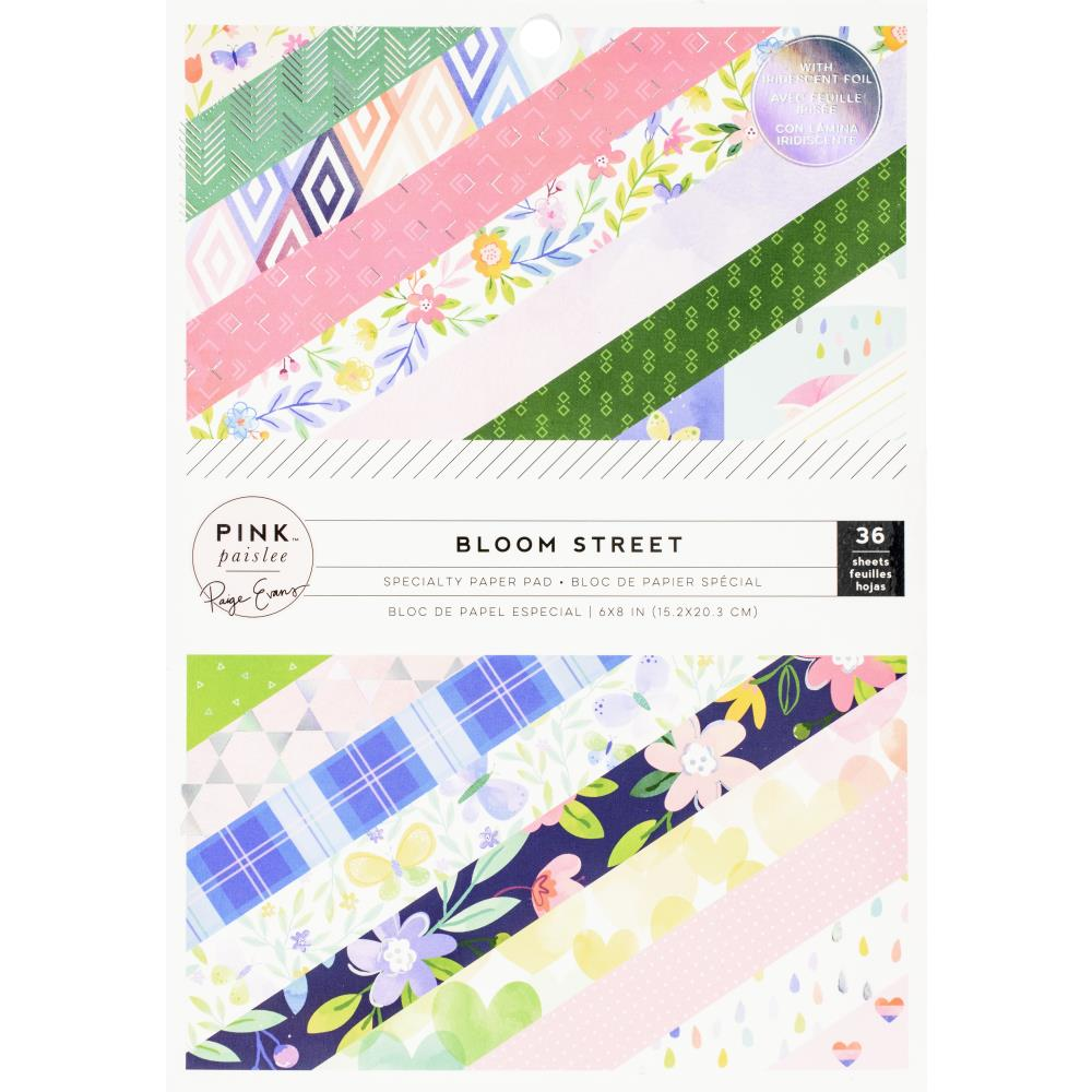 "Bloom Street Paper Pad 6x8"" / Block de Papel Floreciendo"