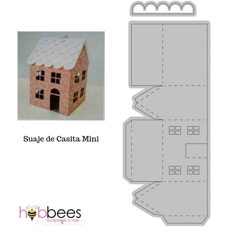 Small Mini House Die / Suaje de Casita Mini