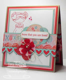 Suaje de Corte de Borde de Corazon / Layered Heart Border Die - Hobbees - 4