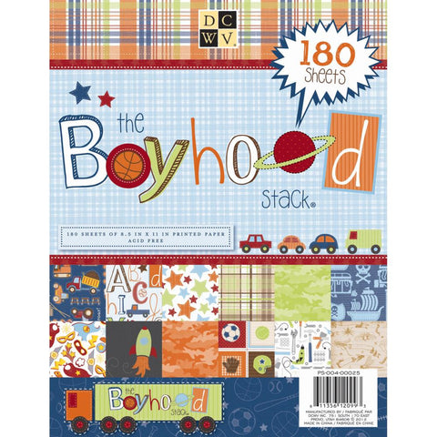 The Boy Hood Stack / Block de papel para Niños - Hobbees