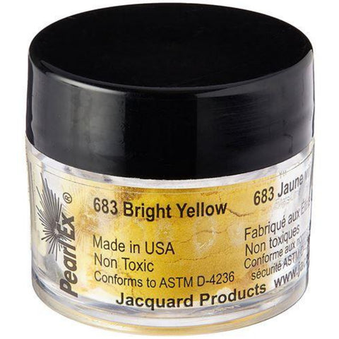 Pearl Ex Bright Yellow / Pigmento en Polvo Amarillo Brillante