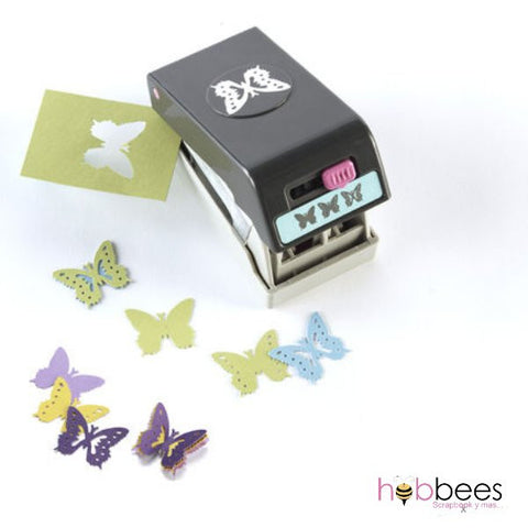 Butterfly Layering Punch / Perforadora 3 mariposas en 1 - Hobbees - 1