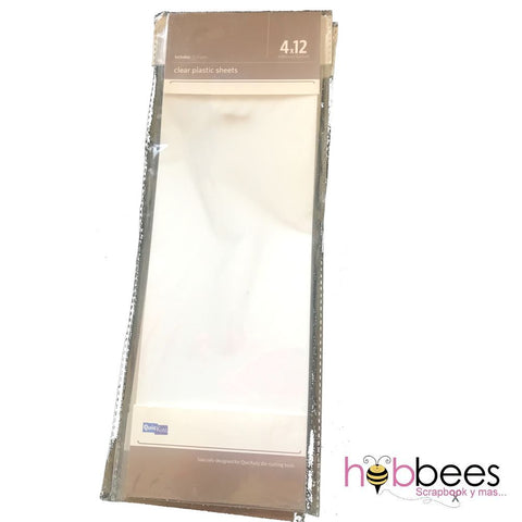 Adhesive Backed Clear Plastic Sheets / Hojas de Plástico Adhesivo