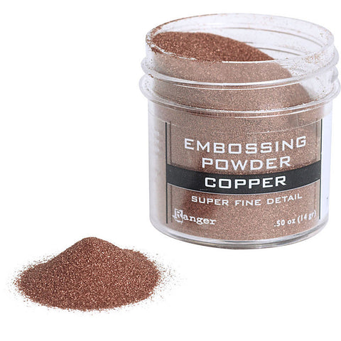 Copper Embossing Powder / Polvos de Realce Cobre - Hobbees - 1