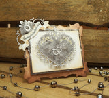 Ornate Heart / Suaje de corte de corazon - Hobbees - 2