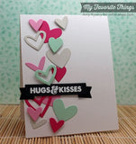 Suaje de Corte de Corazones y Bordes / Staggered Heart Border Die - Hobbees - 3