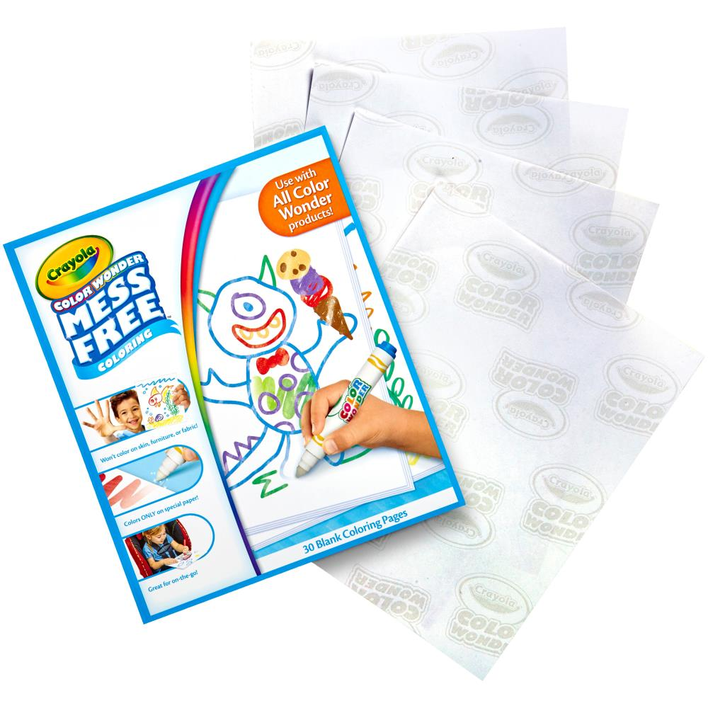 Color Wonder Refill Paper / Color Wonder Hojas Blancas para Colorear