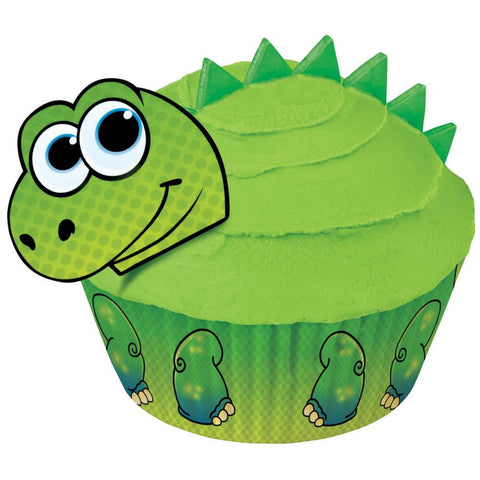 Cupcake Decorating Kit Makes / Kit de Decoracion de Cupcake de Dinosaurios