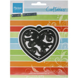 Suaje de corte corazón con filigrana / Craftables Filigree Angel Heart - Hobbees - 1
