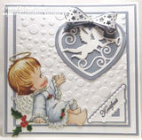 Suaje de corte corazón con filigrana / Craftables Filigree Angel Heart - Hobbees - 3