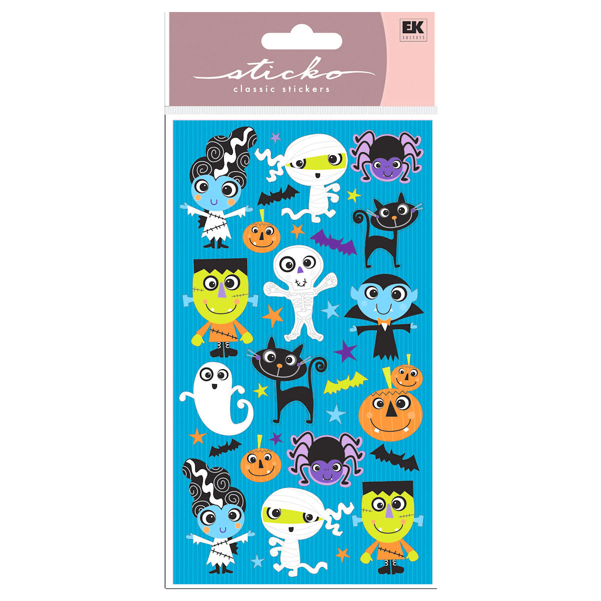 Halloween Buddies Stickers / Estampas de Halloween