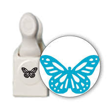 Monarch Buttefly Large Punch / Perforadora de Mariposa Monarca - Hobbees - 1