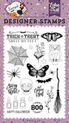 Stay For A Spell Stamps / Sellos de Halloween