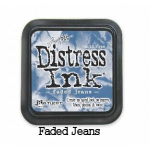 Cojin de tinta para sellos / Distress Faded Jeans - Hobbees