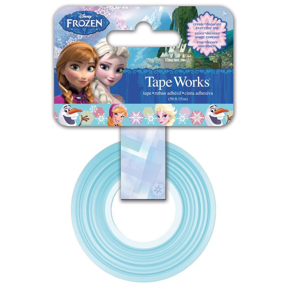 Cinta Adhesiva / Washi Tape Frozen - Hobbees - 1