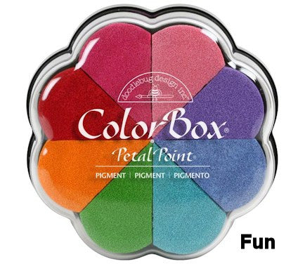 Cojines de tinta para sellos / Petal Point Fun Pigment Ink pad - Hobbees
