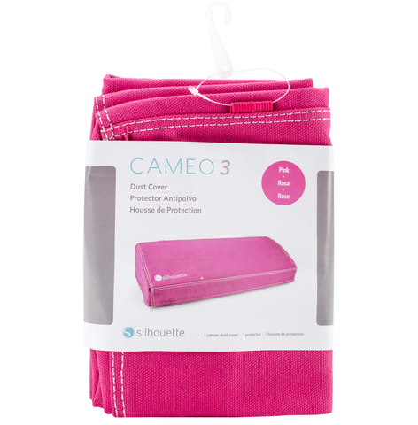 Silhouette Cameo 3 Dust Cover Pink / Funda Protectora Cameo 3 Rosa