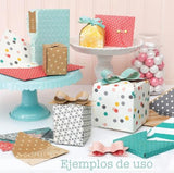 Gift Box Punch Board / Tabla para Crear Cajitas Cuadradas
