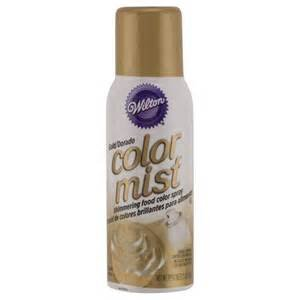 Color Mist Food Color Spray Gold / Aerosol para Alimentos Dorado