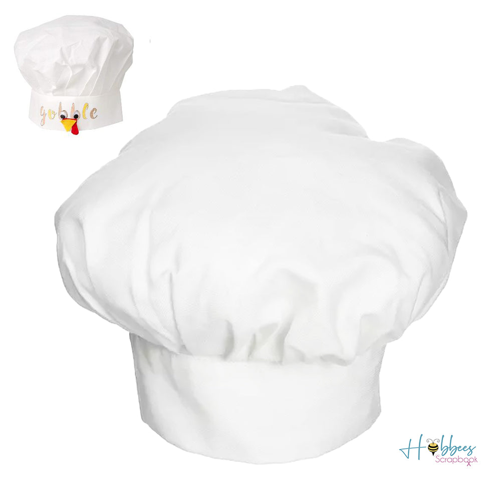 Adult Chef Hat / Gorro de Chef para Adultos