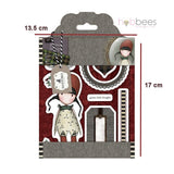 Sellos de Goma Cling Gorjuss / Gorjuss Stamp Holly - Hobbees - 2