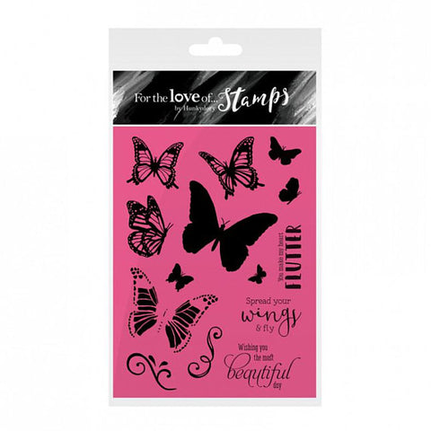 Stamps Spread your Wings / Sellos de Mariposas