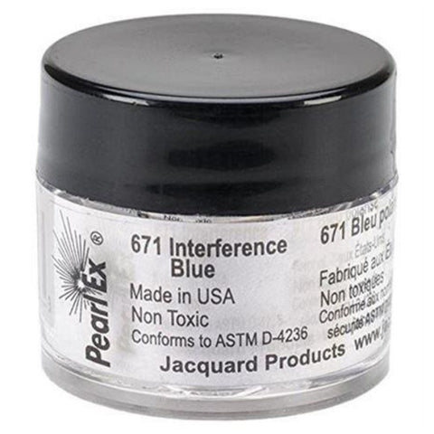 Pearl Ex Interference Blue / Pigmento en Azul interferencia