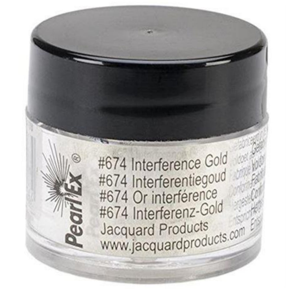 Pearl Ex Interference Gold / Pigmento en Oro Interferencia