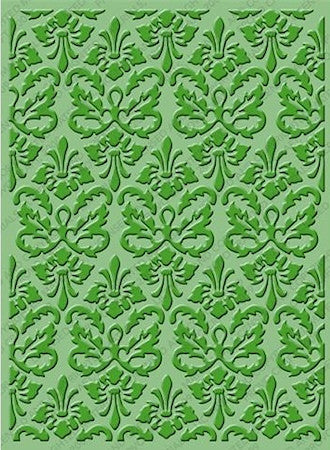 Folder de Grabado / Embossing Folder Kassie´s Brocade - Hobbees