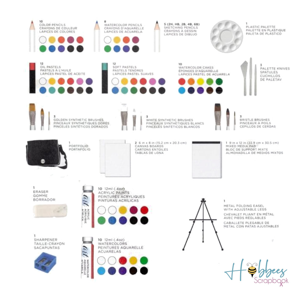 Studio Art Kit / Set Completo de Arte 97 pz