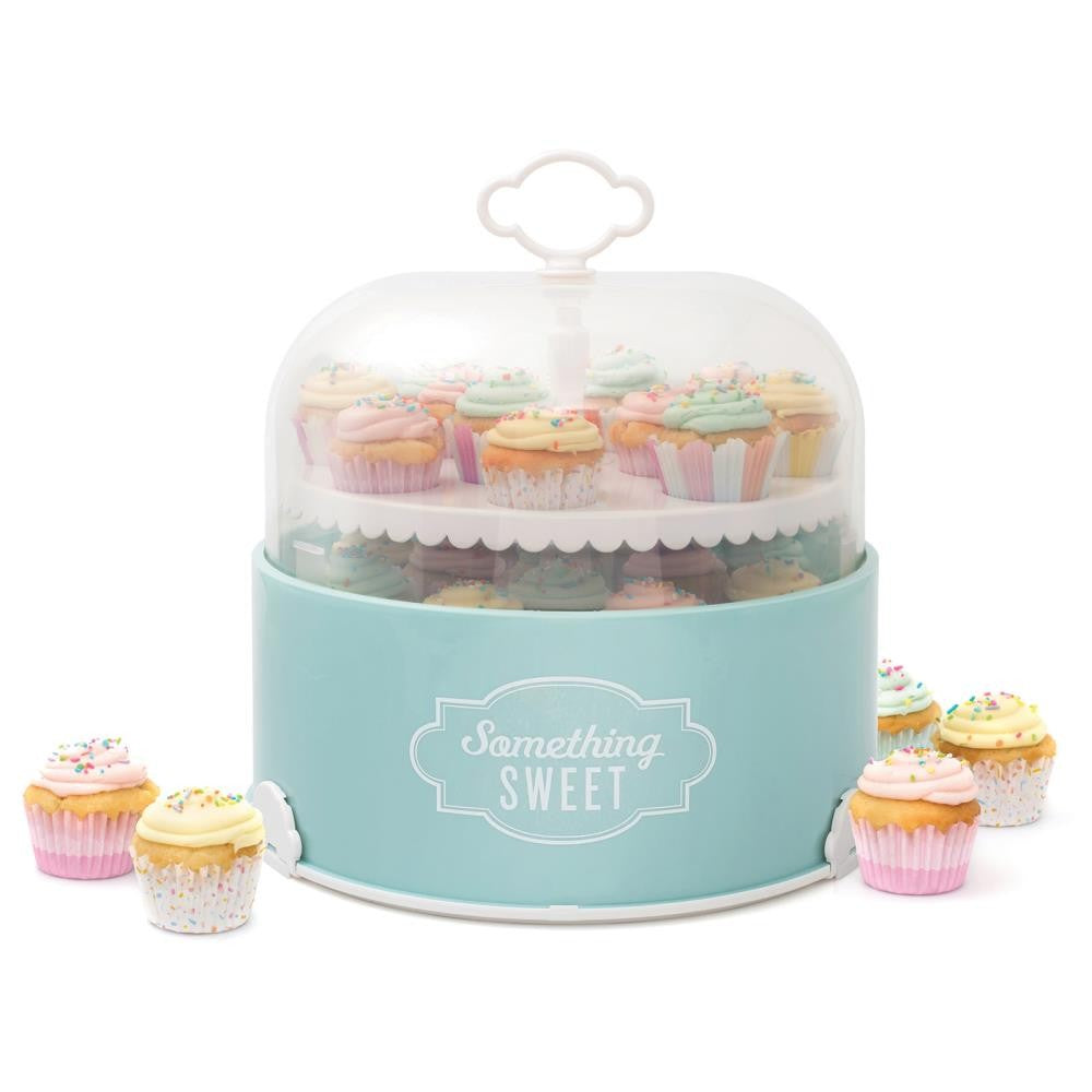 Magic Cupcake Caddy Sweet Tooth Fairy / Contenedor y Exhibidor para Postres Portátil