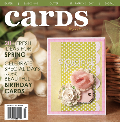 Cricut Cards March 2012 Magazine / Revista de Ideas para Tarjetas - Hobbees