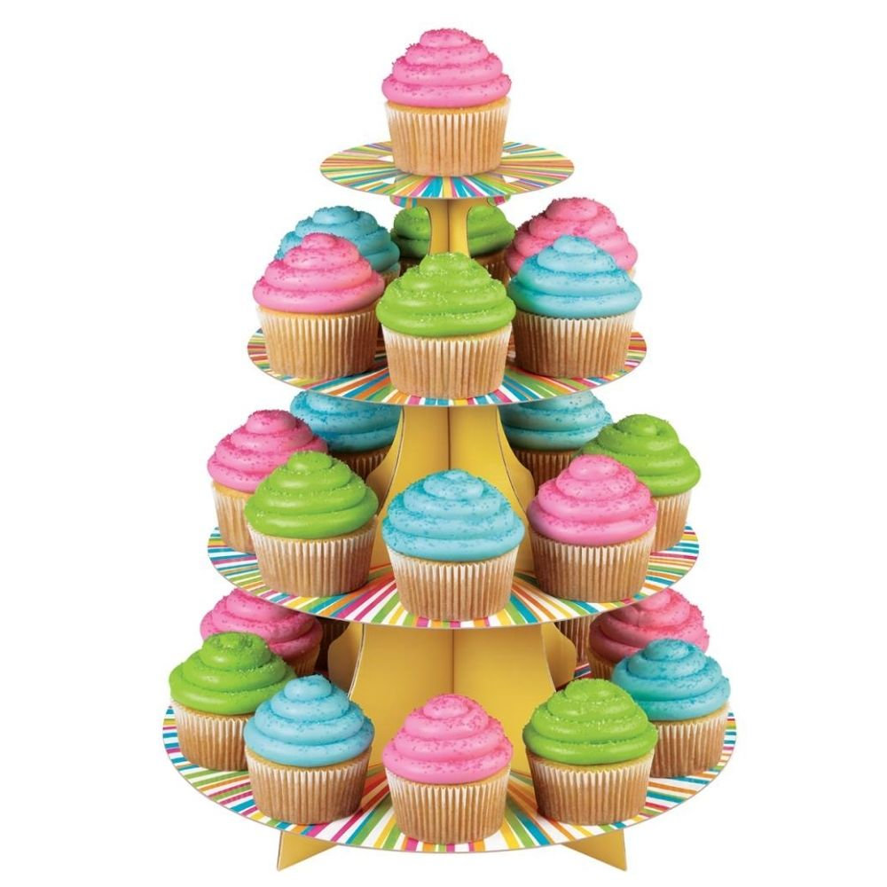 Colorful Treat Stand / Base Para Cupcakes y Dulces