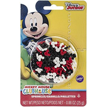 Mickey Mouse Sprinkles / Granillo de Azúcar Decorativo