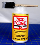 Mod Podge Foam Brushes / Brochas de Esponja