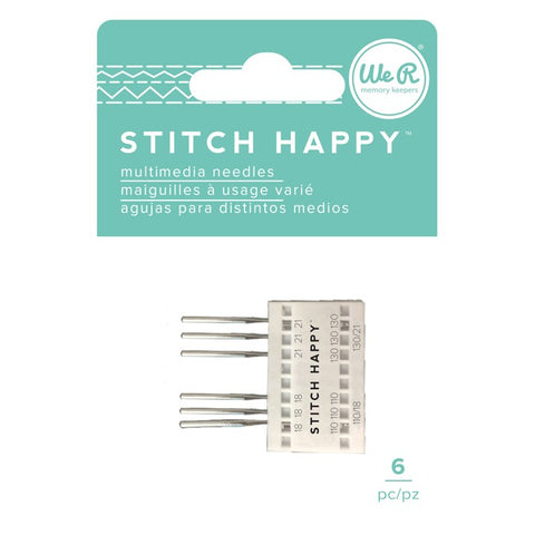 Stitch Happy Needles / Agujas Para Máquina de Coser Stitch Happy