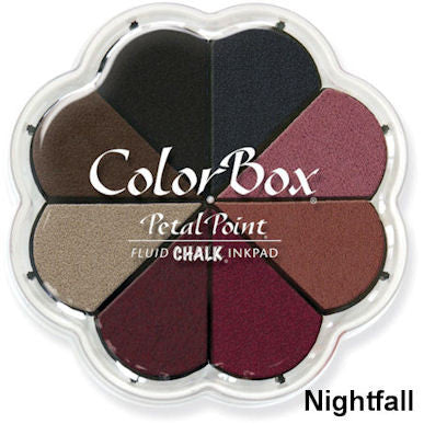 Cojines de tinta para sellos / Petal Point Nightfall Chalk Ink pad - Hobbees