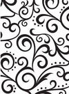 Embossing Scroll Background / Folder de Grabado Ondas y Puntos - Hobbees