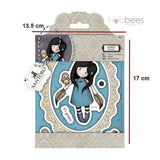 Sellos de Goma Cling Gorjuss / Gorjuss Stamp Owl - Hobbees - 2