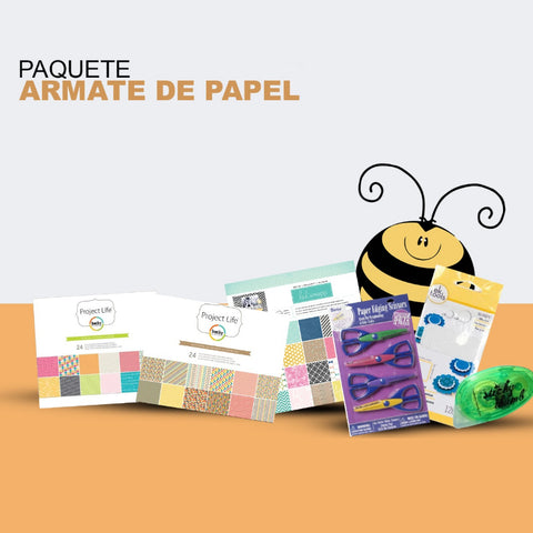 Paquete de Papel Decorativo