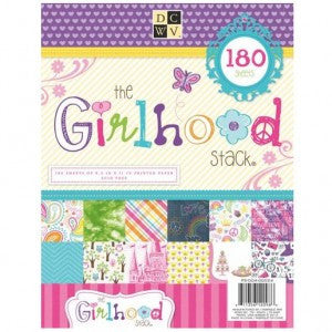 The Girl Hood Stack / Block de Papel 180 Hojas Chavas - Hobbees