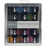 Chalk Set Metallics / Set de Gises Colores Metálicos