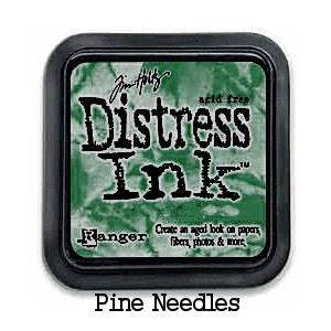 Cojin de tinta para sellos / Distress Pine Needles - Hobbees