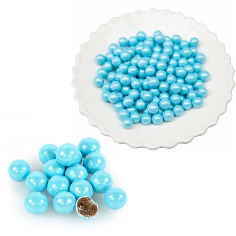 Powder Blue Sixlets Celebration /  Chocolates Confitados Azul Metálico